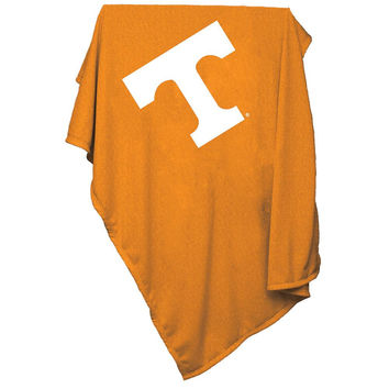 Tennessee Volunteers NCAA Sweatshirt Blanket Throw