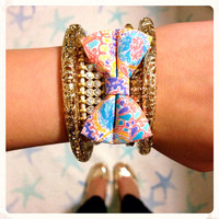 Lilly Pulitzer Custom Bow Bracelets