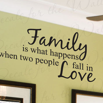 Best Family Wall Sayings Products on Wanelo