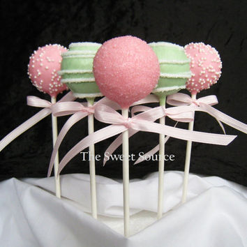 Cake Pops: Baby Shower Cake Pops Made to Order with High Quality Ingredients.