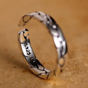 SILVER RING FEMALE VINTAGE  FASHION GIFT FOR LOVE WOMEN RINGS