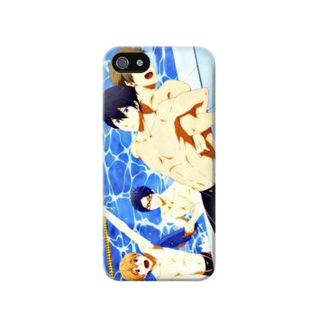 P2128 Free Iwatobi Swim Club Case For IPHONE 5/5S