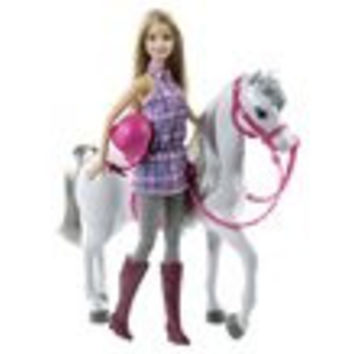 Barbie Horse Doll Set