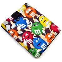 "Hand Crafted Tablet Case from M & M Fabric/ Tablet Case For  Kindle Fire HD 7"" ,i Pad Mini,Nook HD 7, Samsung Galaxy 7"