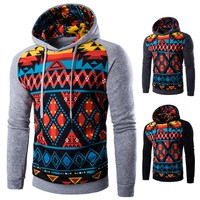 SS-M62 New Men's Clothing Fashion Pullovers the Chinese wind digital printing, long sleeve casual men swetshirt and hoodies