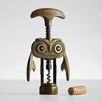 Hootch-Owl ™  corkscrew at RedEnvelope.com