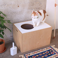 Litter Box Cover / Cat Cave