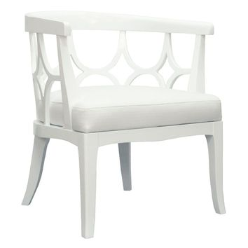 Campbell Chair White