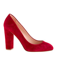 J.Crew Womens Etta Suede Pumps