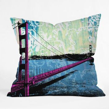 Golden Gate Bridge pillow