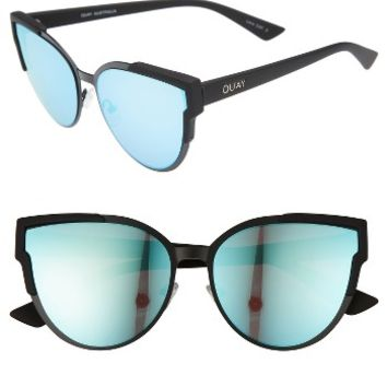 Quay Australia Game On 57mm Cat Eye Sunglasses | Nordstrom
