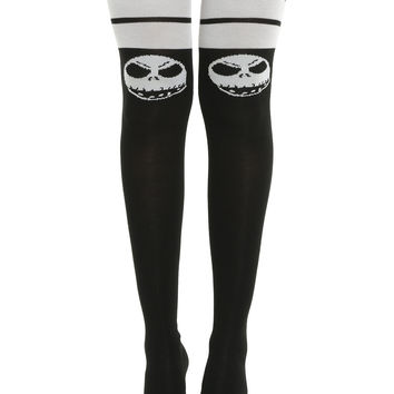 The Nightmare Before Christmas Jack Skellington Over-The-Knee Socks