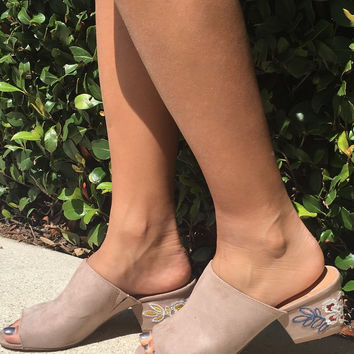 Funky Town Heel - Taupe
