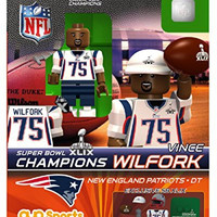 OYO Super Bowl 49 Champions New England Patriots Vince Wilfork Limited Edition Minifigure