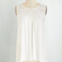 Boho Mid-length Sleeveless Sweet-Spirited Top