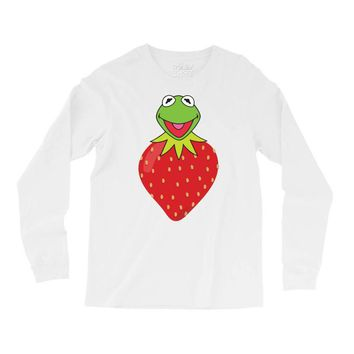 Kermit Strawberry Long Sleeve Shirts