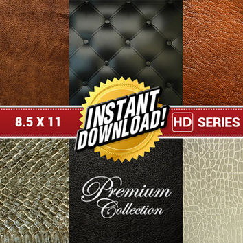 6x Deluxe 8.5 x 11 Paper Pad Pack Set Professional Scrapbooking High-Quality Digital Paper Background Photography Photoshop Collage Sheets