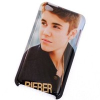 MagicSky Justin Bieber Belieber Pattern 1 Snap-on Crystal Hard Skin Case Cover Apple iPod Touch 4 4G 4th iPod4 Generation