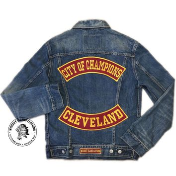 Cleveland - City of Champions - Rocker Denim Jacket