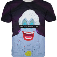 Ursula Trust No Bitch Little Mermaid T-Shirt