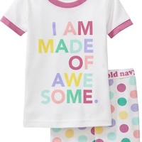 """Old Navy """"Made Of Awesome"""" PJ Sets For Baby"""