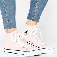 Converse Chuck Taylor All Star Hi Tops In Waffle Texture at asos.com