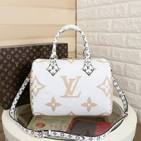 2019 New LV Louis Vuitton Women Leather Monogram Fashion Handbag Neverfull Bags Tote Handbag Shoulder Bag Wallet