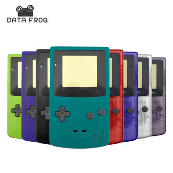 Full Set Housing Shell For Nintendo Game Boy GBC Limited Edition Case Repair Part With Buttons Super Slim Covers Matte Color