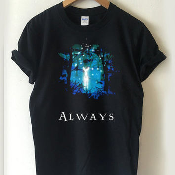 Harry potter Snape's Patronus always T-shirt Men, Women, Youth and Toddler
