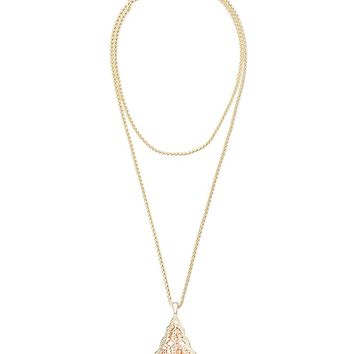 Aiden Necklace in Rose Gold - Kendra Scott Jewelry