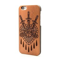 Dagger Love Heart - iPhone | Custom Plugs - Best Ear Gauges, Flesh Tunnels For Stretched Ears