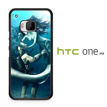 Diver and The Mermaid HTC One M9 Case