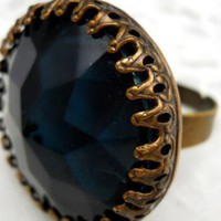 Rich and Dark Medieval Ring