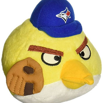 MLB Toronto Blue Jays Angry Bird Plush Toy, Small, Yellow