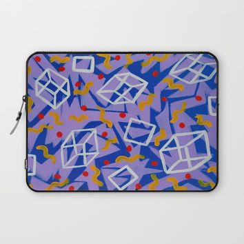 90's Feels Laptop Sleeve by Ducky B