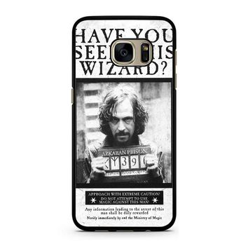 Sirius Black Wanted Poster Samsung Galaxy S7 Case