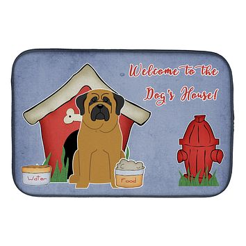 Dog House Collection Mastiff Dish Drying Mat BB2772DDM
