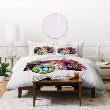 Bianca Green Picture This Duvet Cover