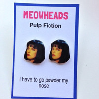 Pulp Fiction // Uma Thurman Earrings