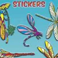 Stickers, Dragonfly, Dragonfly Story, Shiny, Dragonflies Stickers
