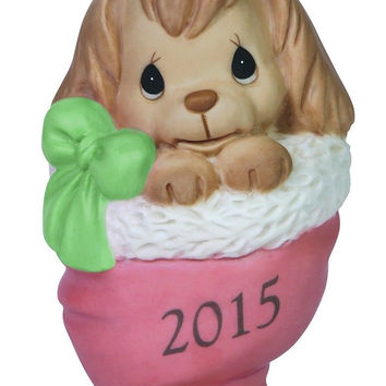 Precious Moments Happy Howlidays 2015 Dog Ornament
