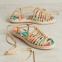 Vicenza Knotted Print Sandals