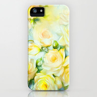 Shabby Chic Yellow iPhone Case by Jacqueline Maldonado | Society6