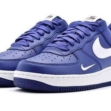 Nike Air Force 1 Low Mini Swoosh Deep Royal Blue