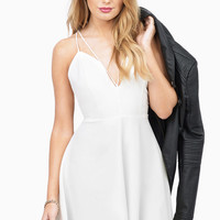 Rooftop Romance Flare Dress