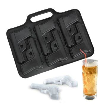 Ice Cube Maker War Gun Ice Cube Tray DIY Ice Cream Maker Ice Cube Mold Kitchen Bar Party Drinking Accessories