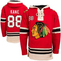 Chicago Blackhawks Patrick Kane Heavyweight Jersey Lacer Hoodie