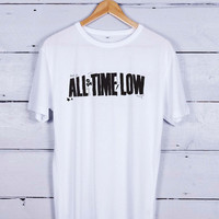 All Time Low Logo Band Tshirt T-shirt Tees Tee Men Women Unisex Adults