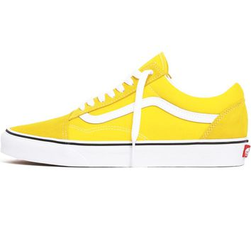 Old Skool Sneakers Vibrant Yellow / True White
