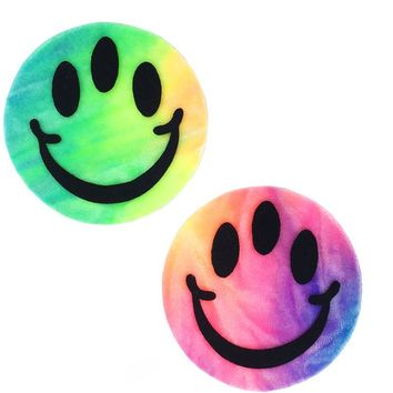 Triclops Pasties in Bubble Tie Dye